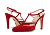 Mary 4 dark red suede 6