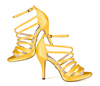 Leena 4 yellow satin 9 web