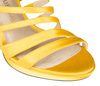 Leena 4 yellow satin 6 web