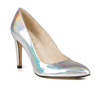 Sandy 4 holographic silver metallic 4 web