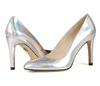 Sandy 4 holographic silver metallic 7 web