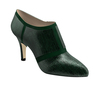 Cynthia 2 dark green lizard dark green suede 2