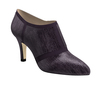 Cynthia 2 dark wine lizard dark wine suede 1