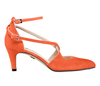 Maria 2 flame orange suede 2 web