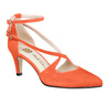 Maria 2 flame orange suede 3 web