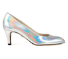 Sandy 2 holographic silver metallic 3 web