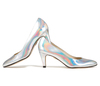 Sandy 2 holographic silver metallic 2 web
