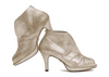 Nasrin 2 champagne metallic suede image 1 low res