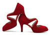 Beth anne 2s dark red suede image 1 low res
