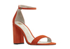 Caitlin 4 flame orange suede image 3 low res