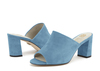 Rachel 2b ross blue suede image 6 low res