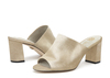 Rachel 2b metal suede champagne image 6 low res