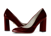 Zoe 4 dark wine metallic patent image 6 low res