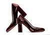 Zoe 4 dark wine metallic patent image 1 low res
