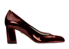 Zoe 2 dark wine metallic patent image 2