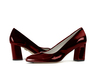 Zoe 2 dark wine metallic patent image 6