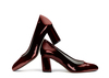 Zoe 2 dark wine metallic patent image 1