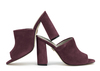 Rachel 4b wine suede image 1 low res