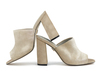 Rachel 4b metal suede champagne image 1 low res