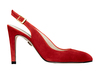 Ruth 4 dark red suede 2