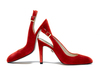 Ruth 4 dark red suede 1