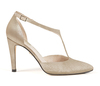 Christian 4 champagne metallic suede image 3 low res