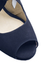Heather 2   navy suede image 8